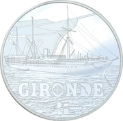 10 Euro (Gironde) -  obverse