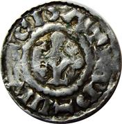 Denier - Charles III the Simple (Metz) – obverse