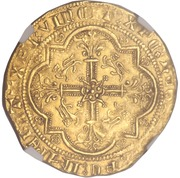 Leopard d'Or - Edward The Black Prince – reverse