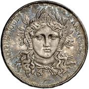 5 Francs (Pattern of Gayrard) -  obverse
