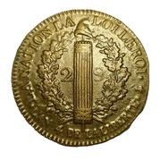 2 Sols - Louis XVI (FRANÇOIS) -  reverse