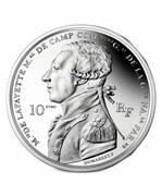 Dix euros Arrivée de La Fayette à Boston – obverse