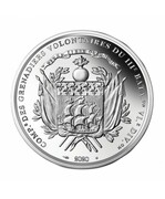 Dix euros Arrivée de La Fayette à Boston – reverse