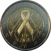 2 Euro (World AIDS Day) -  obverse