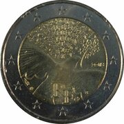2 Euro (Peace) -  obverse