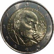 2 Euro (François Mitterrand) -  obverse