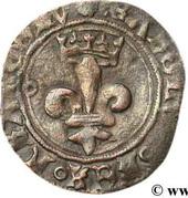 Double tournois dit Niquet - Charles VIII – obverse