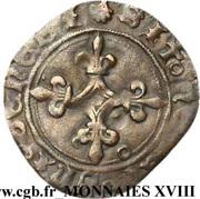 Double tournois dit Niquet - Charles VIII – reverse