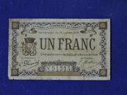 1 Franc ( Granville) – obverse