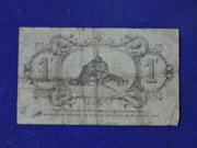 1 Franc ( Granville) – reverse