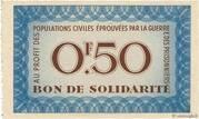 50 Centimes bon de solidarité – obverse