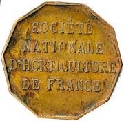 Token - Société Nationale d'horticulture de France – reverse