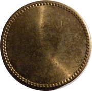Coffee Machine Token (Blank with crenels; 26 mm) – reverse