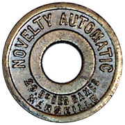 Amusement Token - Novelty Automatic (Marseille) – obverse