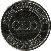 Amusement Token - CLD – obverse