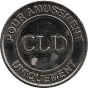 Amusement Token - CLD (Mega CGR Cinémas) – obverse