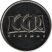 Game Token - CGR Cinemas – obverse