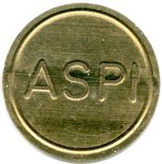 Car Wash Token - ASPI – obverse