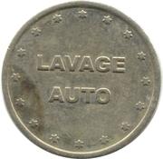 Car Wash Token - Hydrowash (22 mm) – reverse