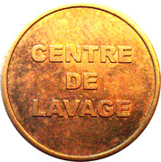 Car Wash Token - Centre de Lavage – reverse
