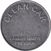 Car Wash Token - Clean Car Tech – obverse