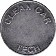 Car Wash Token - Clean Car Tech – reverse