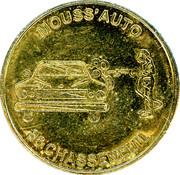 Car Wash Token - Chasseneuil (86) – reverse