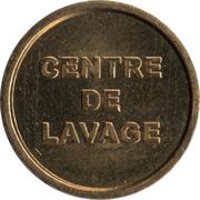 Car Wash Token - Centre de Lavage (CBsquare; 18.5 mm) – reverse