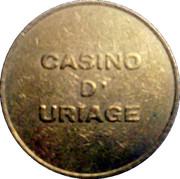 2 Francs - Casino d'Uriage – obverse