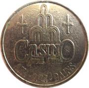1 Franc - Casino du Grand Cercle (Aix-Les-Bains) – reverse