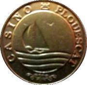 2 Francs - Casino de Pouescat – reverse