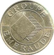 10 Frans - Casino Emeraude (Bagnoles-de-l'Orne) – reverse