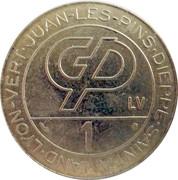 1 Franc (Groupe Partouche) – obverse