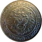 2 Francs (Groupe Partouche) – reverse