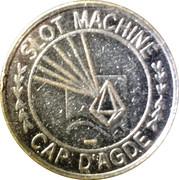 2 Francs - Casino Cap d'Agde – reverse
