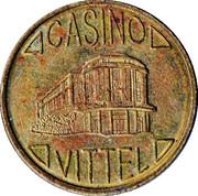 2 Francs - Casino de Vittel – obverse