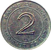2 Francs - Casino de Vichy (Groupe Partouche) – obverse