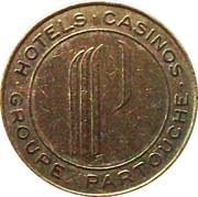 2 Francs - Casino de Vichy (Groupe Partouche) – reverse