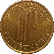 1 Franc - Casino le Touquet (Groupe Partouche) – reverse