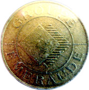 5 Francs - Casino Emeraude (Bagnoles-de-l'Orne) – reverse