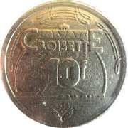 10 Francs - Casino Croisette Cannes – reverse