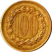 100 Francs - Casino Token – obverse