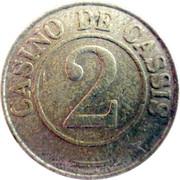 2 Francs - Casino de Cassis – obverse