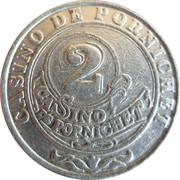 2 Francs - Casino Pornichet – reverse