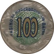 100 Francs - Casino De Niederbronn-Les-Bains – obverse