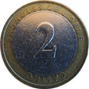 2 Euro - Casino Emeraude (Bagnoles-de-l'Orne) – obverse