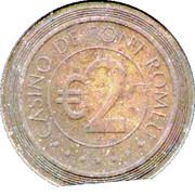 2 Euro - Casino de Font Romeu – reverse
