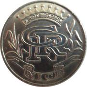 5 Francs - Casino Ruhl (Nice) – reverse