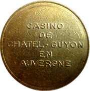 2 Francs - Casino de Chatel-Guyon – obverse
