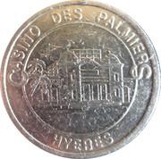 5 Francs - Casino Des Palmiers (Hyeres) – reverse